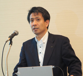 KDDI ビジネスIoT推進本部 ビジネスIoT企画部長の原田圭悟氏