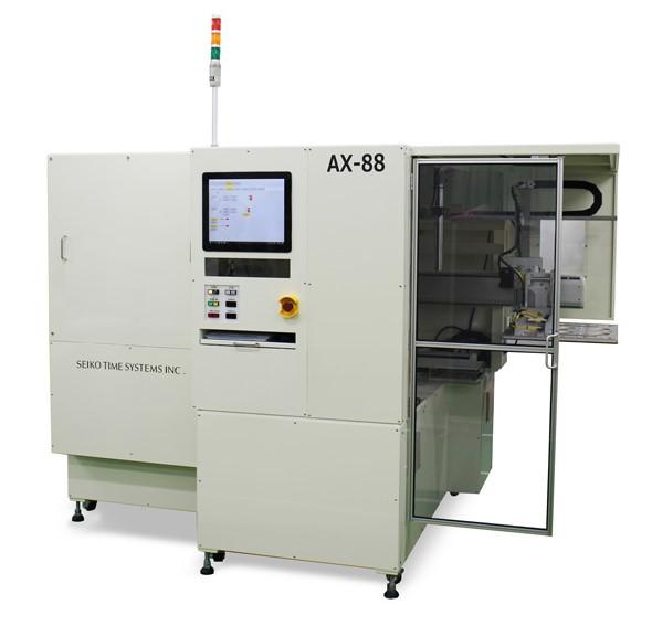 全自動型プリアライメント装置「AX-88」 出典:セイコータイムシステム