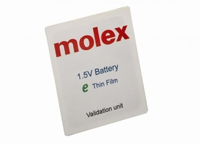 Thin-film Battery(出力電圧1.5V品)の外観