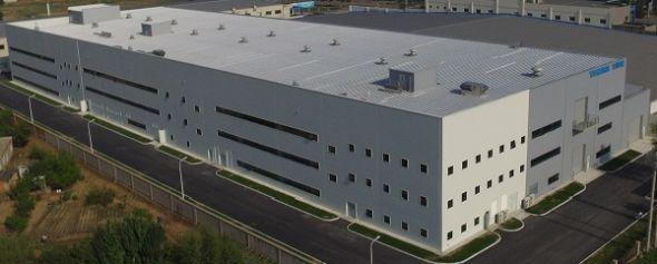 安川電機(瀋陽)の第3工場 出典:安川電機
