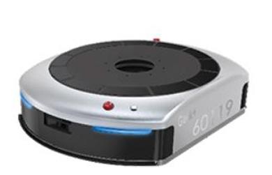 AI搭載自動搬送ロボット「EVE」(ギークプラス製)