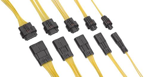 Squba防水型電線対電線用コネクターシステム