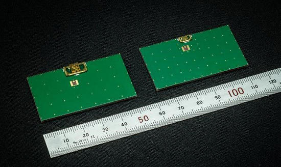 表面実装部品タイプのアンテナ