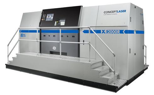 大型金属3Dプリンタ「X LINE 2000R」