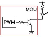 PWM回路とLED駆動回路