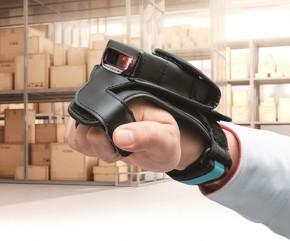 グローブ型2次元ウェアラブルスキャナー「Wearable SF1」