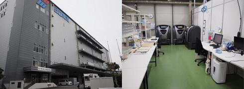 日立物流京浜物流センター(東京都大田区平和島)内の3Dプリントサービス拠点