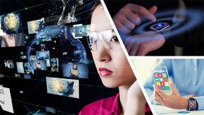IoTデバイスやウェアラブルデバイスに実装した活用イメージ