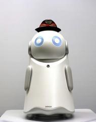 音声対話型AI搭載「駅案内ロボット」