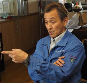 旭鋳金工業 代表取締役の大林淳一氏