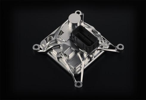 エンジン直載型ECUの意匠事例「Direct Mounted ECU Concept」