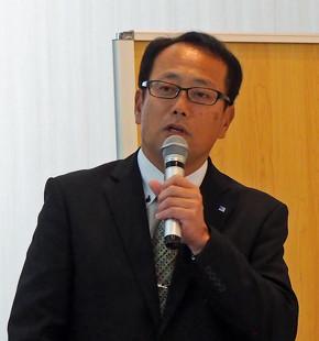 サンデン・リテールシステム 常務執行役員 事業工場長 久保田顕氏