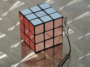 ルービックキューブ型キーホルダー