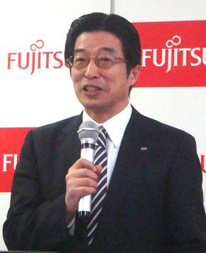 富士通 執行役員 産業ソリューションビジネスグループ長 森隆士氏