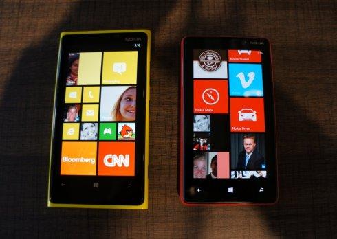 Nokia Lumia 920と820