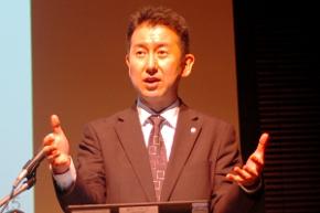 大和ハウス工業 経営管理本部 経理部の次長 松山竜蔵氏