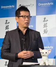 ドリーム・アーツ 代表取締役社長の山本孝昭氏