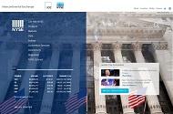 ニューヨーク証券取引所の公式Webページ