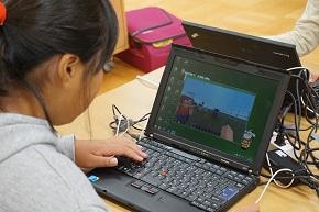 Minecraftを使ったプログラミング授業