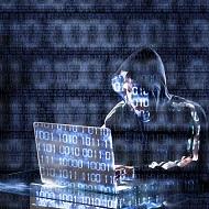 暗号化とテロリストのイメージ