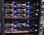 データセンター内部