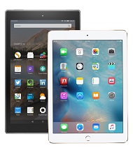 iPad Air 2��Fire HD 10