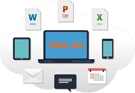 Office 365は多様なデバイスでさまざまなソフトウェアが使える