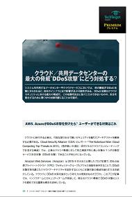 """クラウド/共用データセンターの最大の脅威""""DDoS攻撃""""にどう対処する?"""