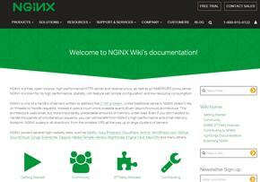 NginxのWebサイト