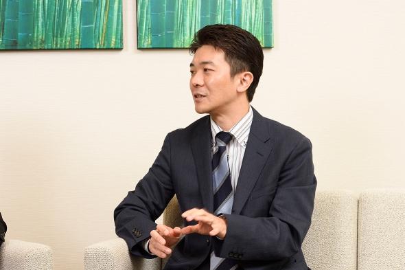 東京証券取引所 箕輪郁雄氏