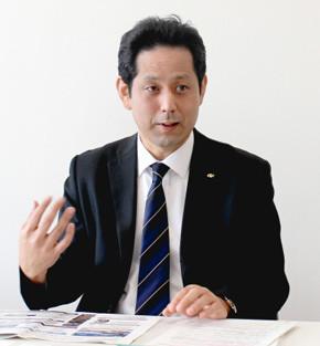 総務部 新行政推進室 係長 直塚 健氏