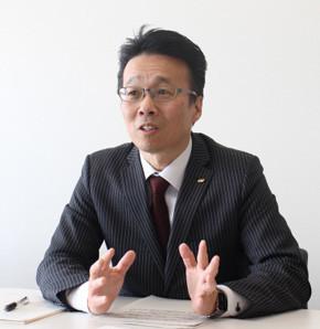 総務部 情報政策課 総括課長補佐 村山健一氏