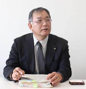 総務部 情報政策課 課長 山崎敏朗氏